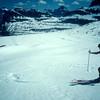 Summer skiing in Glacier Park, Montana
