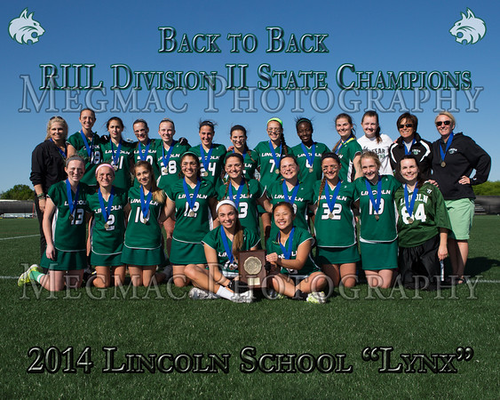 RIIL Div II Final - Lincoln School vs Wheeler - 05/31/14