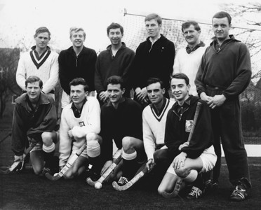Lincolnshire hockey team v Bedford 1964