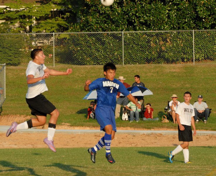 Lincolnton vs Maiden Soccer Aug. 30, 2010