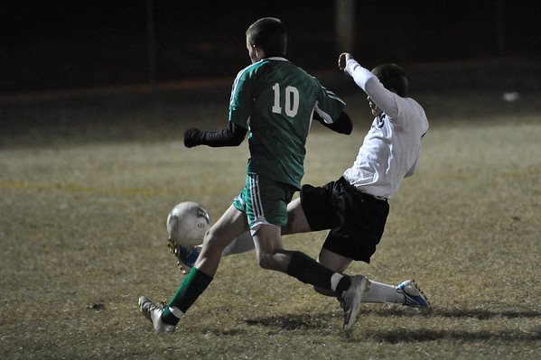 Lincolnton vs North Davidson Soccer Playoffs Nov. 6, 2010