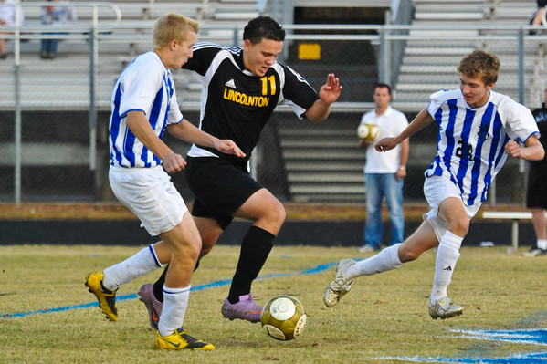 Lincolnton vs North Lincoln soccer Sr Night October 26-28, 2010