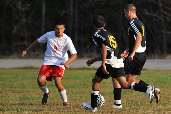 Lincolnton vs West Lincoln Soccer October 13, 2010