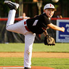 New Albany's Ray Reisinger pitches during their game against Jeff/GRC in the 9-10-year-old District 5 championship game in New Albany on Saturday. New Albany won the game, 3-0. Staff photo by Christopher Fryer