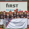 New Albany All-Star's defeated Greater Clark 11-0 in the District 5 eleven year old championship game at Kevin Hammersmith Memorial Park on Friday.  Photo by Joe Ullrich
