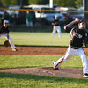 New Albany's Tucker Biven delivers a pitch during the New Albany and HYR 9-10 District 5 All-Star Championship at the Clarksville Little League Park Wednesday evening. New Albany won 5-1.<br /> Staff photo by Tyler Stewart