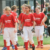 A dejected Jeff/GRC All-Star team leaves the field after getting beat 10-7 by Yorktown in Sunday's 9/10 year old State Tournament semifinal game. Photo by Joe Ullrich