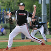 New Albany All-Star Ryan Robison throws a pitch to theplate during Wednesday's  District 5, 13/14 division championship game against Jeff/GRC. Photo by Joe Ullrich
