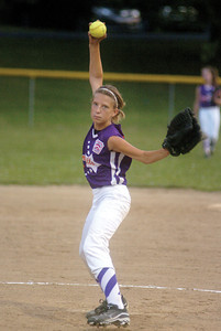 Danville's Taylor Cashner pitches against Mifflinburg on Thursday in Milton.