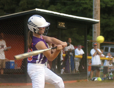 Danville's Taylor Brosious bats during in Milton during Thursday's game against Mifflinburg.
