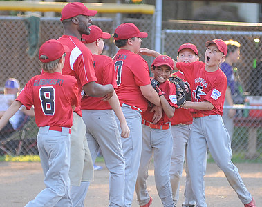 Elyria pitches, runs to 11U district title