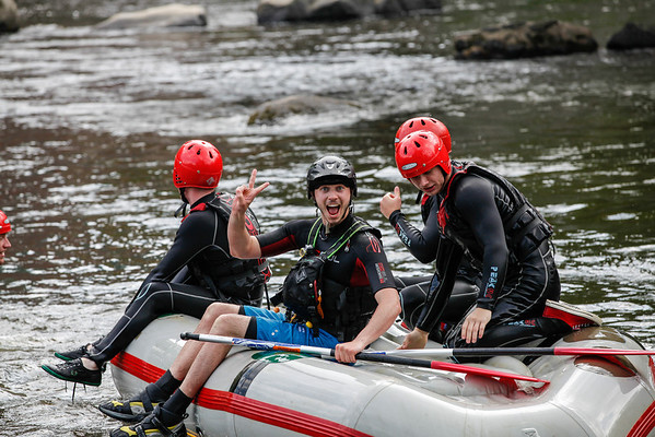 Llangollen White Water Rafting