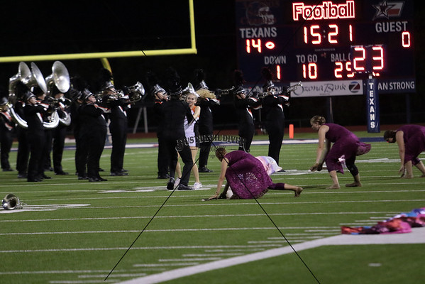 Band and Sideline at Wimberley