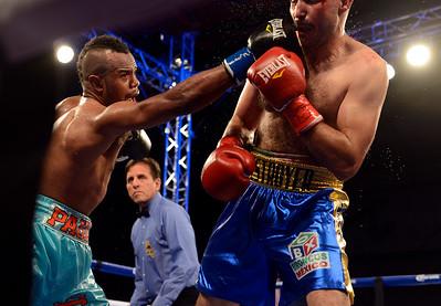 Boxing in Salinas 062615