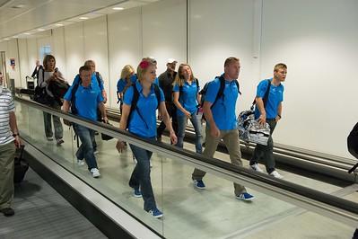 Finnish athletes arrive to London__25.0712_London Olympics_Photographer: Christian Valtanen_London_Olympics_25.07.2012__ND46088_