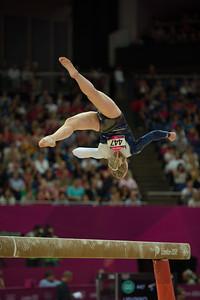 Annika Urvikko at London olympics 2012__29.07.2012_London Olympics_Photographer: Christian Valtanen_London_Olympics_Annika Urvikko at London olympics 2012_29.07.2012__ND49830_Annika Urvikko, finnish athlete, gymnastics