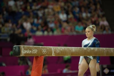 Annika Urvikko at London olympics 2012__29.07.2012_London Olympics_Photographer: Christian Valtanen_London_Olympics_Annika Urvikko at London olympics 2012_29.07.2012__ND49823_Annika Urvikko, finnish athlete, gymnastics