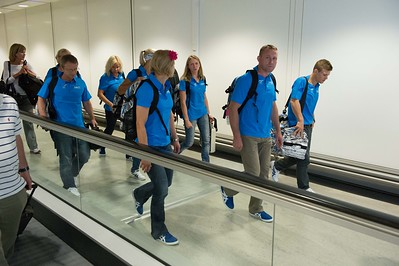 Finnish athletes arrive to London__25.0712_London Olympics_Photographer: Christian Valtanen_London_Olympics_25.07.2012__ND46090_