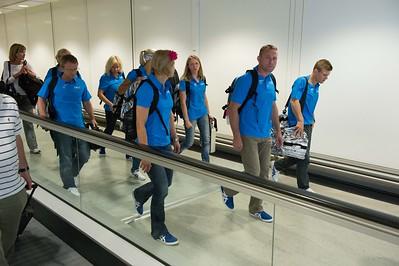 Finnish athletes arrive to London__25.0712_London Olympics_Photographer: Christian Valtanen_London_Olympics_25.07.2012__ND46090_