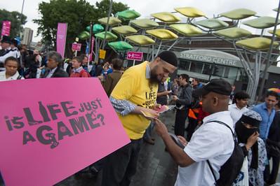 Muslim outreach__31.07.2012_London Olympics_Photographer: Christian Valtanen_London_Olympics_Muslim outreach_31.07.2012__ND41166__Photo-Christian_Valtanen