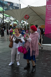 Christians preaching gospel at the Stratford station__31.07.2012_London Olympics_Photographer: Christian Valtanen_London_Olympics_Christians preaching gospel at the Stratford station_31.07.2012__ND41167__Photo-Christian_Valtanen
