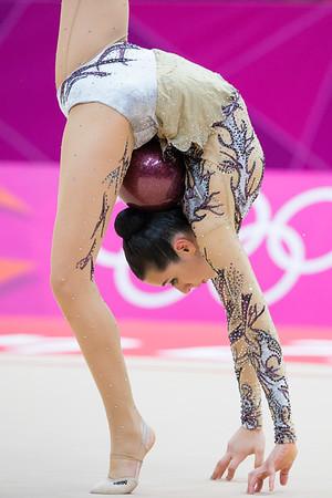 Rhythmic gymnastics 9.8.2012