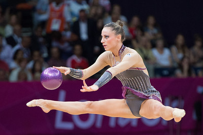 Rhythmic gymnastics all-around qualification at the London Olympic Games 2012