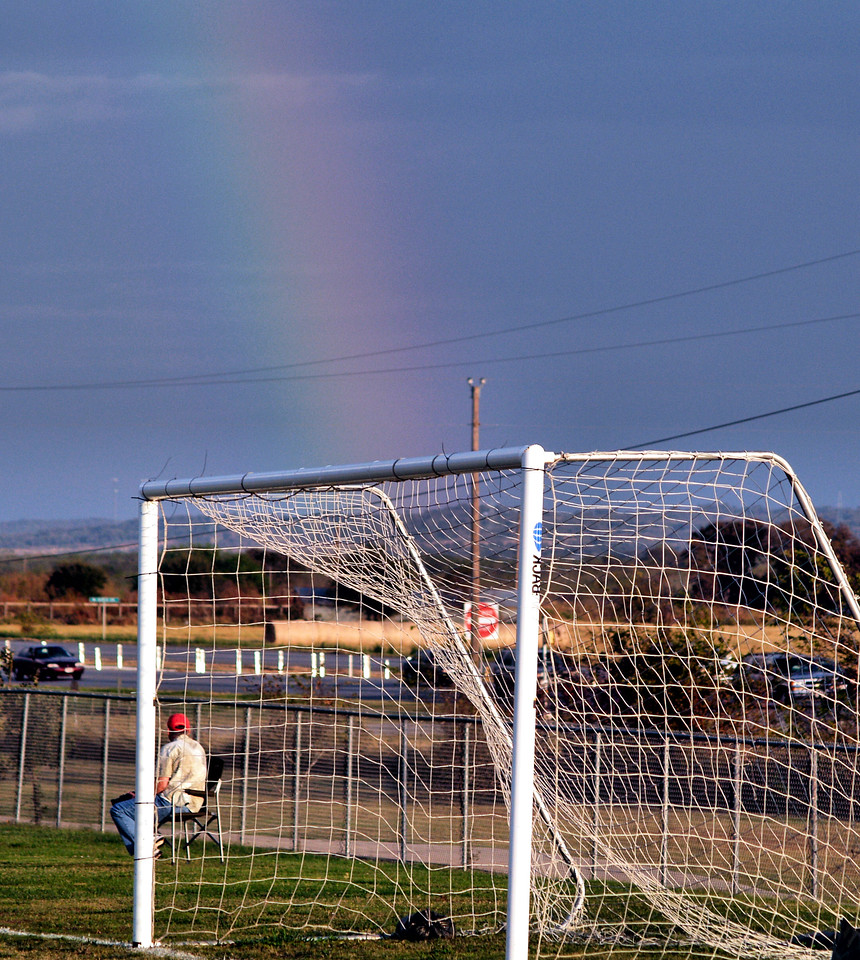 Goal at the end of the rainbow.