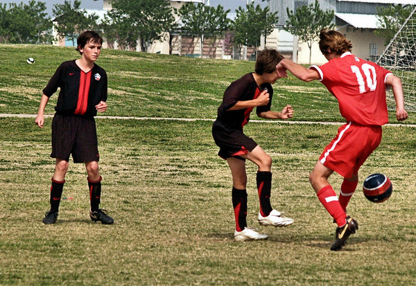 Lonestar Soccer vs DTA 3.29.2008