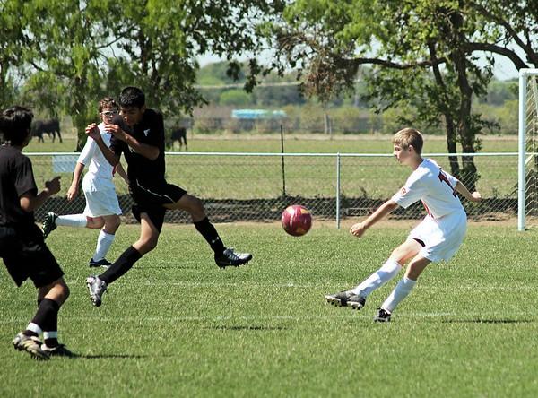 Lonestar Soccer vs Hammers 4.5.2008