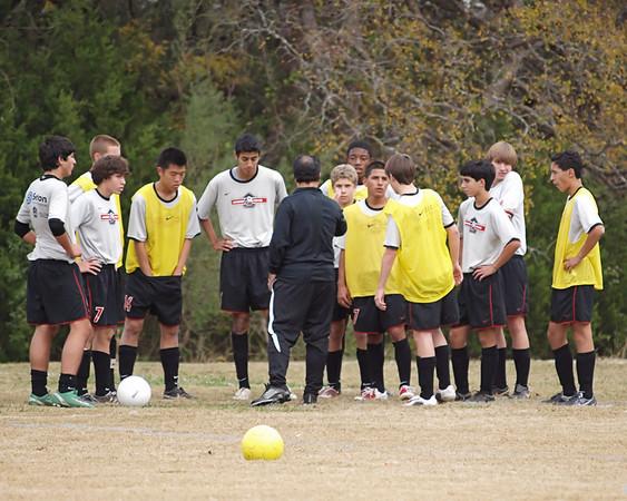 Lonestar Soccer vs. 94 Dallas Texans 11.27.2009