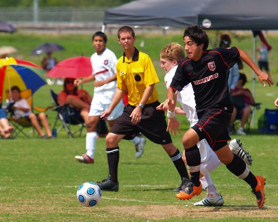 Lonestar Soccer vs LS 94 Red South 9.20.2009