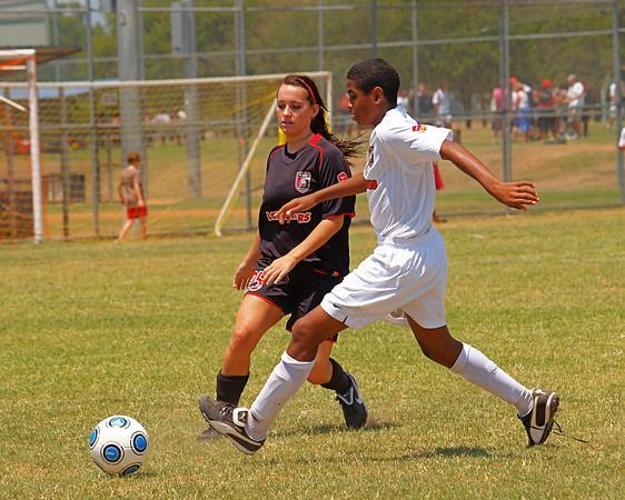 Lonestar Soccer vs. Lonestars 92G White 8.8.2009