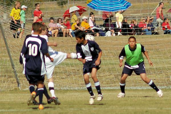 Lonestar Soccer vs. Millenium 11.9.2008