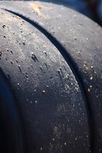 """Sticky"" Used Michelin Race Tires"