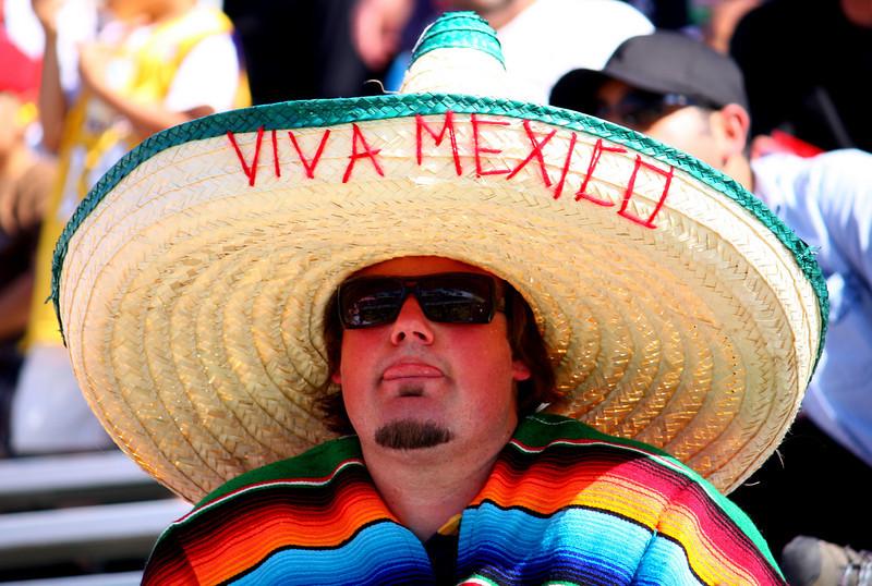A Fan from Across the Border
