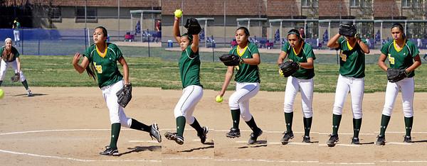 Long Beach Poly Softball, 2013