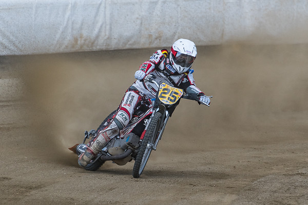 Michael Hartel, one of three German riders.  Michael was lying second in the Championship coming into the event.