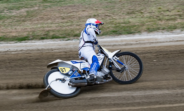 Chris Harris, one of the four British riders.  Chris made the semi-final on the night.