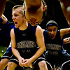 Longmont's Matt Martien (center) gives a pep talk to his teammates before playing Pueblo East during the semifinals of the boys 4A State Championships at the Coors Event Center on the University of Colorado campus in Boulder, Thursday, March 11, 2010. <br /> <br /> KASIA BROUSSALIAN