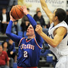 "Centaurus' Nate McGinley shoots the ball past Longmont's Brian Donaire during Friday's game at Longmont. <br /> For more photos please see  <a href=""http://www.dailycamera.com"">http://www.dailycamera.com</a><br /> January 26, 2012<br /> staff photo/ David R. Jennings"