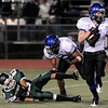 "Longmont High School junior D.J. Fowler returns a punt for a touchdown during a football game against Niwot High School on Thursday, Oct. 8, at Longmont High School.<br /> For more photos go to  <a href=""http://www.dailycamera.com"">http://www.dailycamera.com</a><br /> Photo by Jeremy Papasso"