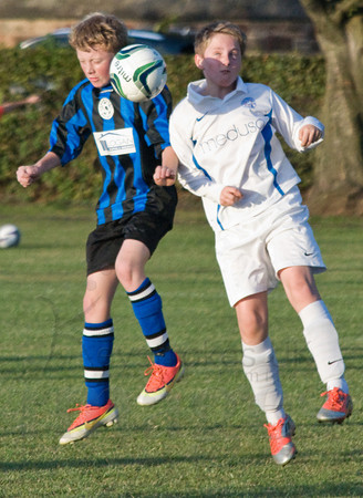 Longniddry Villa Vs. Musselburgh Windsor Blues. South East Region, Division 2 U13's