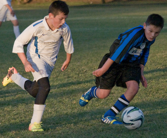 Longniddry Villa Vs. Musselburgh Windsor Blues. South East Region, Division 2 U13's