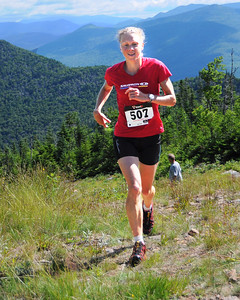 Kasie Enman, of Huntington, VT, competed in The Loon Mountain race, which was held at Loon Mountain Resort, in Lincoln, NH, on July 8th, 2012. This year's women's division race was the Women's US Mountain Running team qualifier for the World Mountain Running Championships, to be held this September in Ponte di Legno, Italy. Ms. Erholtz, who graduated in 1997 from Manchester Central High School, and is the 2011 Women's World Mountain Running Champion, just missed making this year's US team, with a 5th place finish, and a time of 48:49.