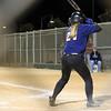 Mattie at bat.