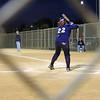 Naomi at bat.