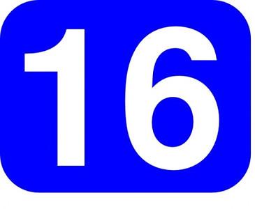 Blue # 16