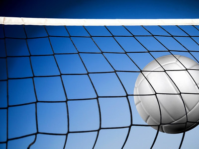 Volleyball Net & Ball
