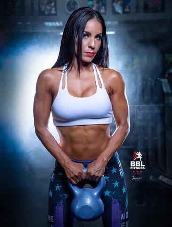 Lourdes at Gym